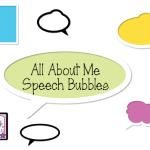 All About Me Speech Bubbles! (FREEBIE!)
