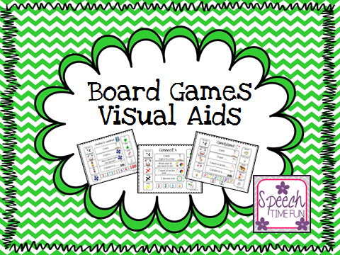 Board Games Visual Aids! (PLUS GIVEAWAY!)