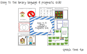 Going To A Library: Language & Pragmatic Skills!