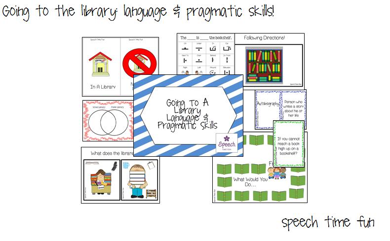 Going To A Library: Language & Pragmatic Skills!