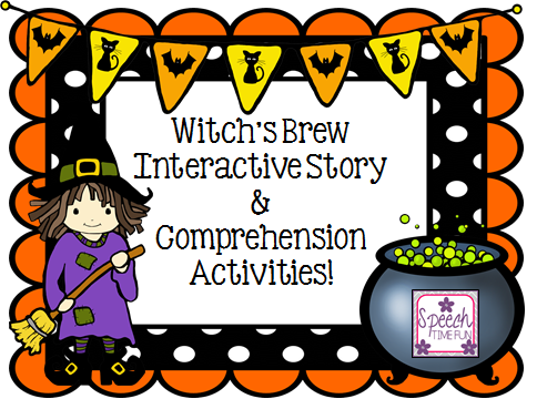 witchs brew interactive story comprehension activities - Halloween Following Directions