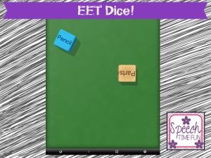 EET Dice! (iPad fun!)