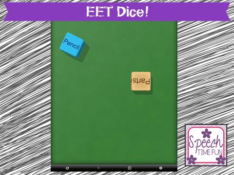 EET Dice! (iPad fun!)