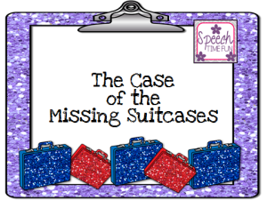 The Case Of The Missing Suitcases (a vocabulary & inferencing activity)