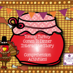 Tommy Turkey Interactive Story & Comprehension Activities!