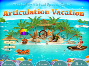 Articulation Vacation (app review!)