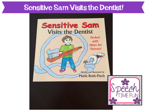 Sensitive Sam Visits the Dentist — product review and big news