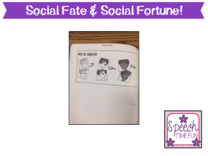 Social Fortune or Social Fate: A Social Thinking Graphic Novel Map for Social Quest Seekers
