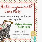 What's in your cart — linky party