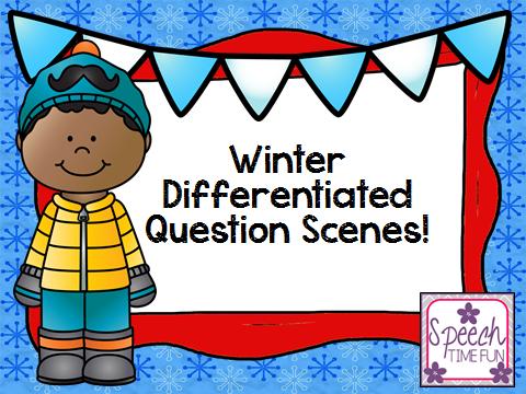 Winter Differentiated Question Scenes