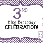 3rd Blog Birthday Celebration!! Giveaways and tons of fun!!