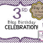 3rd Blog Birthday!  Day 3: TpT Bundle Giveaway!!