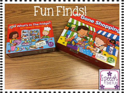 Fun Finds!! (fun new games for  my speech room and how I plan to use them!)