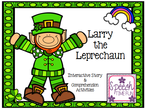 Larry the Leprechaun: Interactive Story & Comprehension Activities!
