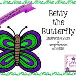 Betty the Butterfly: Interactive Story & Comprehension Activities