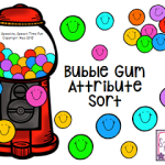 Bubble Gum Attribute Sort!