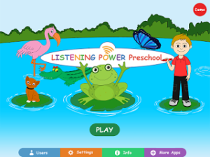 Listening Power (preschool): App review & giveaway!!