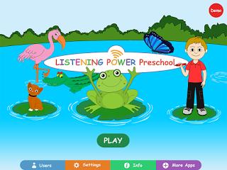 Listening Power (preschool): App review & giveaway!!