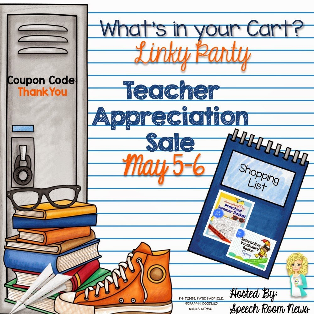 What's In Your Cart? LINKY PARTY!!