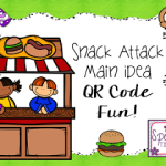 Snack Attack Main Idea QR Code Fun!