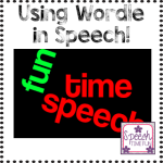 Using Wordle In Your Speech Rooms!