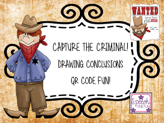 Capture The Criminal: Drawing Conclusions QR Code Fun!