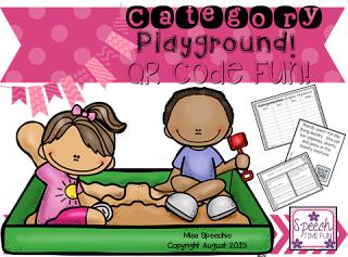 Category Playground! QR Code Fun!