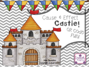 Cause & Effect Castle! QR Code Fun!