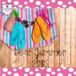 Dear Summer 2015,