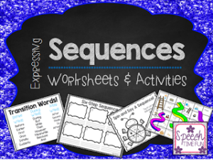 Expressing Sequences Worksheets and Activities!