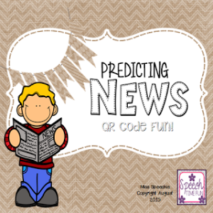Predicting News! QR Code Fun!