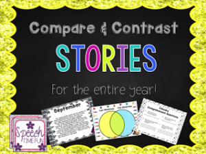 Compare and Contrast Stories (for the entire year!)