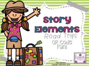 Story Elements Road Trip! QR Code Fun!!