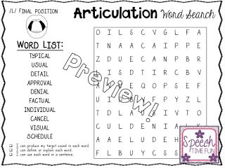 Vocabulary is important, but practicing Tier 2 vocabulary with the help of this articulation word search is super easy! Click through to read more about it!