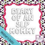 Diary of an SLP Mommy: Mother's Guilt