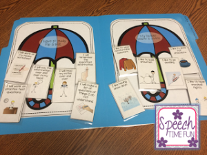 Main idea is one of the trickier reading strategies for students to master. This blog post shares a plethora of tips and tricks for working on main idea in speech therapy. Click through to read the whole post!
