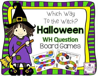Which Way to the Witch is my new Halloween WH question board game resource! Click through to read more about what types of questions are used and to see a preview of the board game!