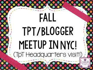 I was so lucky to be able to attend the fall TpT/blogger meetup in NYC a couple of years ago! This post details everything I did, some of the other TpT sellers I got to meet, and what the TpT office looks like. Click through to get the inside scoop!
