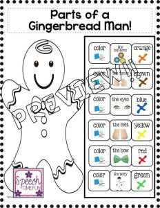 Need a new holiday-themed speech therapy resource? My Feed the Gingerbread Man File Folder Activities resource is just what you need! Click through to read all about what's included in this resource, what skills are targeted by it, and more. It's the perfect Christmas-themed resource to add to your file folder activities collection!