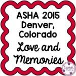 ASHA 2015: Love and Memories