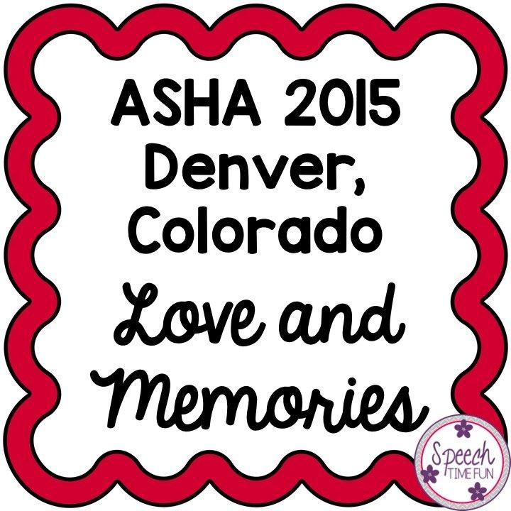 ASHA 2015: Love and Memories
