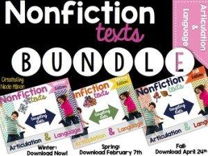 Nonfiction Texts Bundle