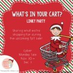 What's In My Cart? Linky Party!