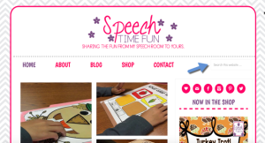 Speech Time Fun has a brand new website! I'm describing some of my favorite new features with my new website inside this blog post, so click through to read more and then have a look around the site!