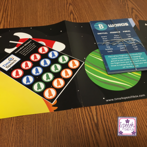 Time 4 Speech has come out with a subscription box that targets SLPs and parents students with speech and language disorders! I share my full review of this subscription box inside this blog post, so click through to learn all of the delightful details!