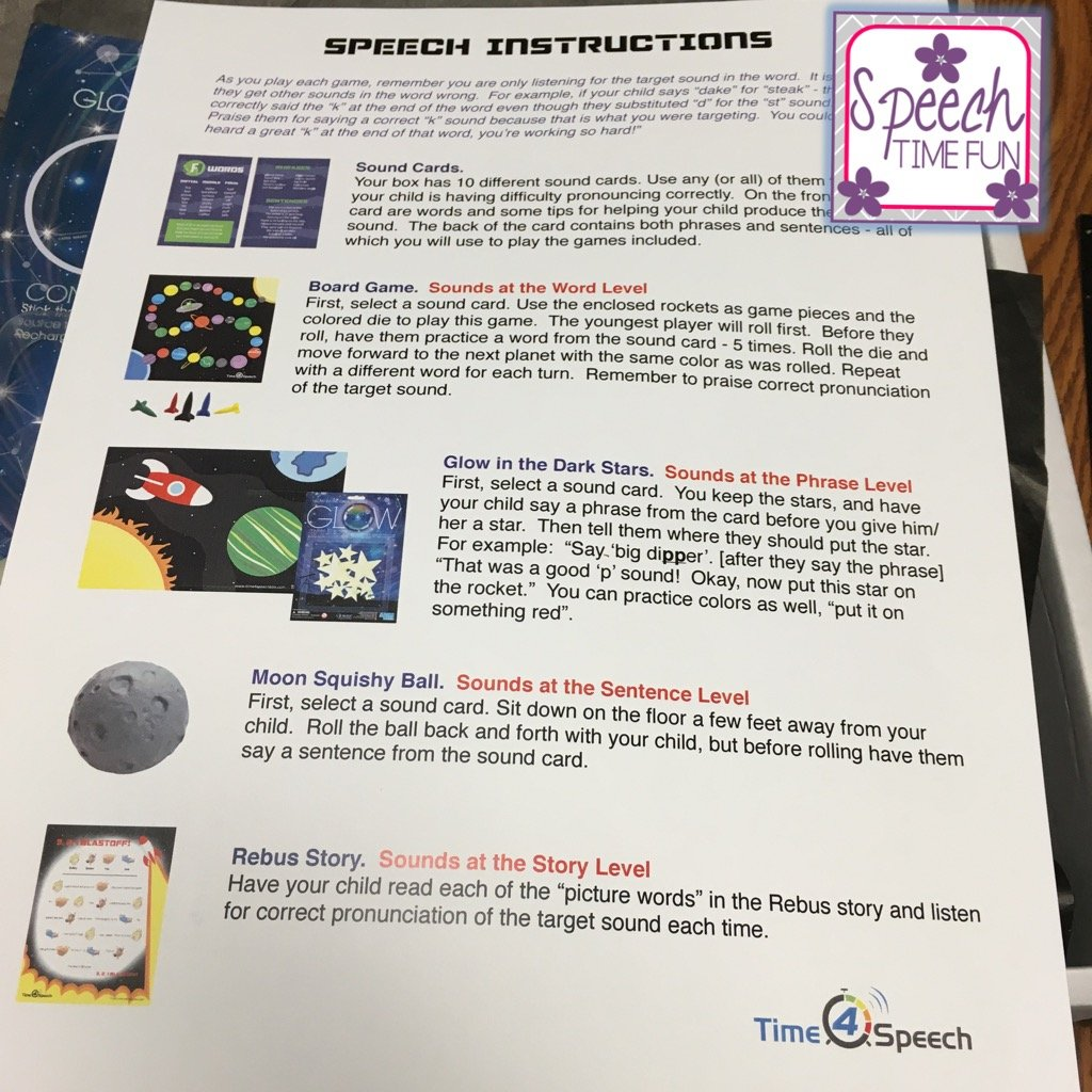 Time 4 Speech Product Review!