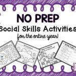 No Prep Social Skills Activities For The Entire Year!!