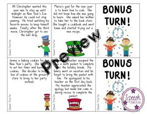 Every SLP loves a freebie, especially one that helps you prepare for your return to school after a break! This New Year's Summarizing Card Game is just what you need to kick things off in the new year with meaningful practice! Click through to read this post and learn more!