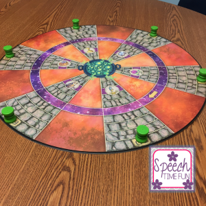 Have you been wanting to learn more about the Cauldron Quest board game? You're in luck, because I've done a product review of it right here on Speech Time Fun! Click through to read all of my opinions and thoughts about Cauldron Quest.