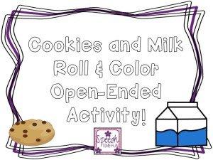 Cookie and Milk Freebie